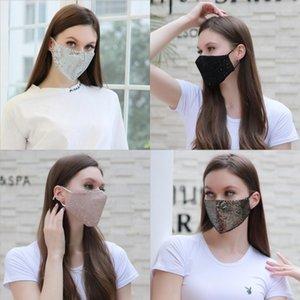 Parti Anime Sevimli Ayı Yetişkin Çocuk Eğlence Fantezi Elbise Gürdeniz Yüz Ağız Kül Yeniden kullanılabilir Toz Windproof Pamuk Siyah Wh # 604 Maske Isınma Maskesi