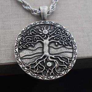 Hayat kolye güneş ay takı 12pcs Celtics Mandala ağaç