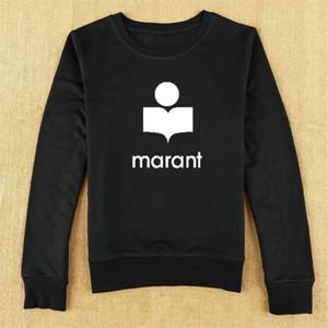 Marante Marante Moletom Camises Mulheres Outono Inverno Manga Longa O-pescoço Moda Casual Sweatshirts Feminino Algodão Sudadera Mujer