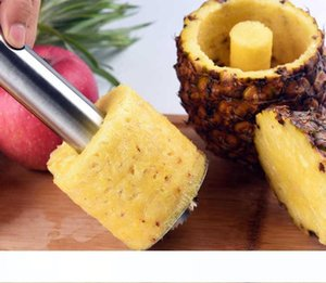 Fashion Hot Novelty Home holds stainless steel Fruit Pineapple Corer Slicer Peeler Cutter Parer Knife with retail package Free Shipping