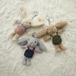 16cm Cute Dress Doll Baby Soft Plush Toys keychain e Stuffed &Plush Animal Baby Toys For Infants