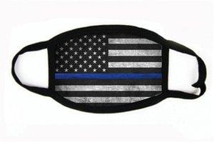Masques Fournitures Manque d'élection américaine Imprimer Masque Anti-poussière universel pour les hommes femmes Drapeau américain Masque Parti Masques 2020 # 901