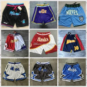 Juste Don Short Pocket authentique Cousu hommes Sweatpants Retro hommes