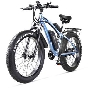 официальный продукт Shengmilo MX02 26 дюймов электрического ATV 500W снегоходы помощи горного велосипед Bafang двигатель электрический велосипед