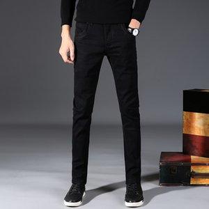 2020 El nuevo S377 de la venta caliente de los hombres Negro flaco Jean proveedor de China