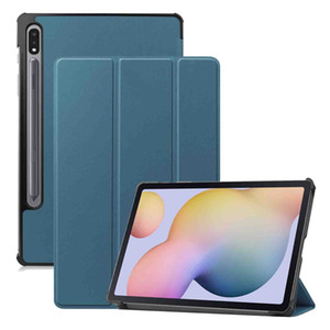 For Samsung Galaxy Tab S7 SM-T870 Case 11 inch 2020 Tab S7 Plus Folio Flip Leather Magnetic Auto Sleep Wake up Smart Cover