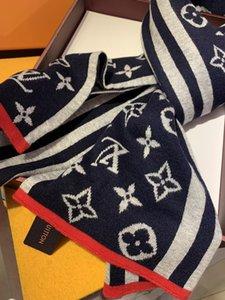 2020 de alta qualidade Luxo chapéus cachecóis Define Homens Mulheres Inverno Cashmere Scarf projeto xales de lã Caps Beanie Wraps Marca Cachecóis WWJJ