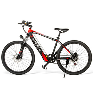 Sambike SH26 الكبار دراجة كهربائية 2 عجلات دراجات كهربائية جبل الكربون الصلب 250 واط 36 فولت دراجة كهربائية قوية