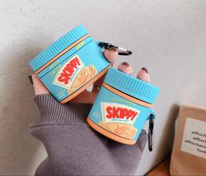 Портативный силиконовый чехол для Apple, AirPods1 2 милых мягких airpods случае для airpodspro 3 мультфильма ударопрочного Earbuds случае