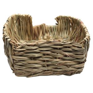 New Grass House Snooze Гнездо Кровать Каюты Cave Для Guinea Pig Шиншилла Hamster Pet