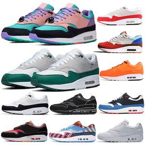 Nuovo 87 Anniversary 1 Wotherspoon Mens scarpe da corsa Evergreen Aura DELUXE anguria 1s 87s uomini donne pacchetto Sketch allo scaffale sneakers sportive