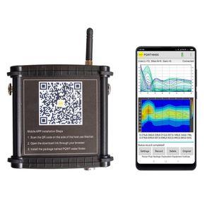 200m novo detector de água subterrâneo automático de mapeamento automático