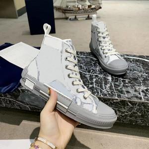 2020 para mujer para hombre zapatos casuales zapatillas de bordado técnica hi-top deportivo populares oblicuas de vestir Formadores las zapatillas de deporte Zapatos
