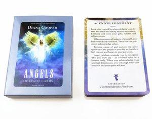 Bilgelik Güverte Melek Your Spirit Işık Güç Mistik Tanrıça Atalar Çalışma Moonology Hayvan Kart Mesajları Işık Oracles yxlvCJ tutun