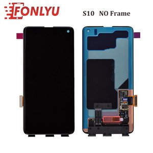 LCD Screen Display for Samsung Galaxy Edge S8 S8+ S9 S9+ S10 S10+ (Only Display No Frame)- Black
