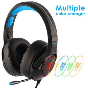 ONIKUMA K9 Gaming Headset Casque PC Stereo Gaming Headphones with Microphone LED Light For Laptop   Xbox One Controller Gamer