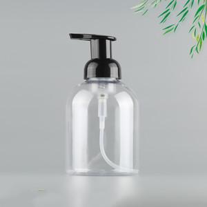 Botella de espuma transparente de la botella de espuma transparente de 500 ml para desinfección Cosméticos líquidos CALIENTE LIBRE FAST SEA FAST ENVÍO DHC2041