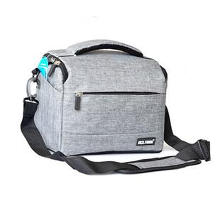 Cámara Digital SLR bolsa para Canon Nikon Sony SLR cámara del hombro del caso de moda digital Cruz impermeable Cinturón cubierta de la lluvia de la cámara SLR suave mí