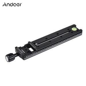 Andoer FNR-200 ترايبود اللوحة سرعة الافراج 200MM / 140MM / 100MM ترايبود العقدية السكك الحديدية الشريحة لأركا ملحقات التصوير الفوتوغرافي السويسري