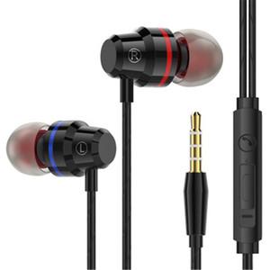 M5 Stereo Draht In-Ohr Kopfhörer-Kopfhörer mit Mikrofon Lautstärkeregler Earbuds Bass-Kopfhörer für Iphone Xiaomi Kopfhörer