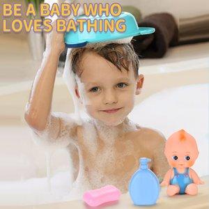 Enfants d'âge préscolaire Les enfants Pretend Baigner Canard Early éducation Simulé Baignoire Play Set Baby Bathing Set de jouets Jeux d'imitation