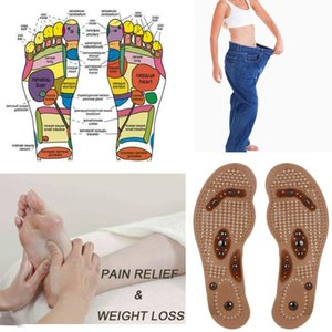 New Foot Care Cushion Slimming body Gel Pad Therapy Acupressure new massaging cushion Foot massager Magnetic Shoe Insoles