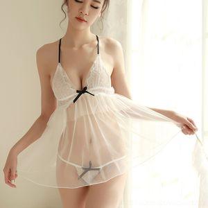 fMDYq Steel Nightgown красивых сексуального соблазна пижама Backless стал феей кольцо красивого кольца домой сексуальные пижамы