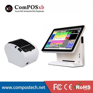 Monitors Factory Price System 15inch Capacitive Touch Screen 80mm Barcode Scanner Pc For Sale