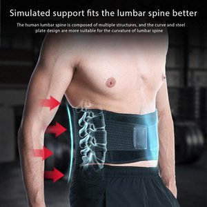 Mens Waist Support Gym Fitness Sports Exercise Waist Band Pressure Protector Body Building Belt Slim Item Sweat For Women Men