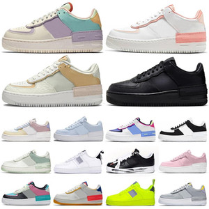 air force 1 af1 forces shoes airforce one zapatos de plataforma shadow high low top skate hombres mujeres entrenadores zapatillas deportivas casuales
