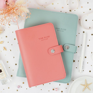 Macaron Cute Spiral Notebooks Stationery Fine Office School Personal Agenda Organizer Binder Diary Weekly Planner Gift A5 A6 A7 C0924