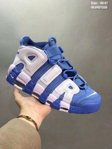 01-2020 Yeni 96 QS Olimpiyat Varsity BARRAGE Erkek Koşu Ayakkabı 3M Scottie Pippen Daha Uptempo Chicago Eğitmenler Spor Spor ayakkabılar Boyutu: 40-47