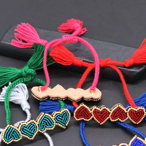 Small row heart shaped ball bracelet Ladies beauty bracelet Fashion temperament dance party travel commemorative 601