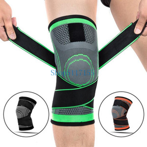 50pcs 3D Weaving Pressurization Knee Brace Basketball Knee Support Professional Protective Sport Pad + Dance shoes