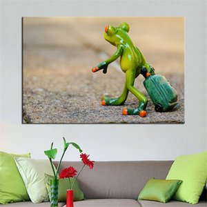 Nordic Style Animal Frog Kid Bedroom Wall Art Poster Print Painting Living Room Decoration Home Decoration No Frame
