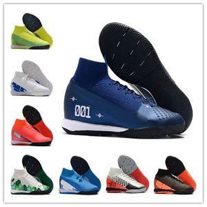 High Quality Mens Mercurial Superfly 7 Elite MDS TF IC Scarpe Calcio Indoor Fußballschuh CR7 Neymar Fußballschuhe