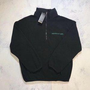 Gosha Rubchinskiy Fleece Jakcet Top Long Sleeve Loose Warm Sweatshirts Couple Women and Mens High Quality Sweater M~XL HFXHWY047