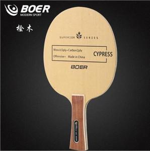 Wholesale- BOER cypress table tennis racket blade j2DL#