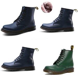 Grossiste Livraison gratuite usine Prix bout rond Wedge cuissardes Martin Bottes stretch Bottes Martin Femmes Mode Boot 203 # 728