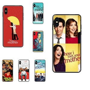 Для Apple iPhone 11 12 Pro X XR XS MAX 5 5S 5C SE 6 6S 7 8 Plus Как Met Your Mother Poster Special Luxury Phone Case