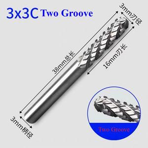 Tungsten Carbide Rotary File hard alloy rotary bur Drill Bit engraving cutter 3mm shank Grinding Head