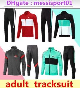 2020/2021 Erwachsenen Trainingsanzug Strumpfhosen Trainer Sportbekleidung Männer 2020/21 volle Reißverschluss Trainingsjacke Set Trainingsanzug