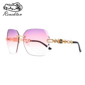 2020 big Sunglasses for Women Designer Elegant Sun Glasses Metal Frame fashion driving oversized rimless sunglass