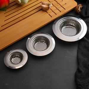 11 9 7cm Kitchen Sewer Wash Basin Filter Sink Drain Bathroom Anti-blocking Floor Drain High Quality Stylish Stainless Steel Fregadero de fil
