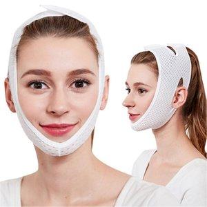 1 adet Çene Kaldırma Yüz İnce Yüz Zayıflama Maskesi Kemer Yüz Masaj Aracı Anti Çift Küçült şekillendirici Masaj Bandaj Kırışıklık VMTDE