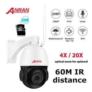 ANRAN 1080P PTZ IP Camera Outdoor Waterproof Speed Dome Camera 20 X Zoom Lens 60M IR Night Vision Security Support Onvif