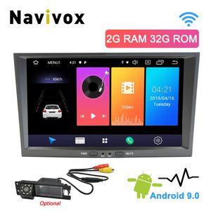 Audio de automóvil NAVIVOX 2 DIN Android 9.0 VAUXHALL ASTRA H MERIVA ANTARA ZAFIRA AGILA CORSA D VECTRA Player multimedia Radio Unidad