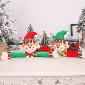 Ev Tatil Dekor için Noel Perde Holding Kapı Perde Toka Sevimli Elf Doll tieback Kanca