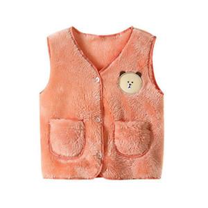 New kids vest for girls waistcoat toddler girl vest infant warm winter waistcoat autumn sleeveless jacket children outwear