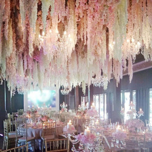 30cm to 120cm Home fashion artificial hydrangea party romantic wedding decorative silk garlands of artificial flowers silk wisteria
